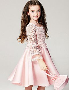 Vestido+Chica+de-Verano-Poliéster-Rosa+–+MXN+$+336.41