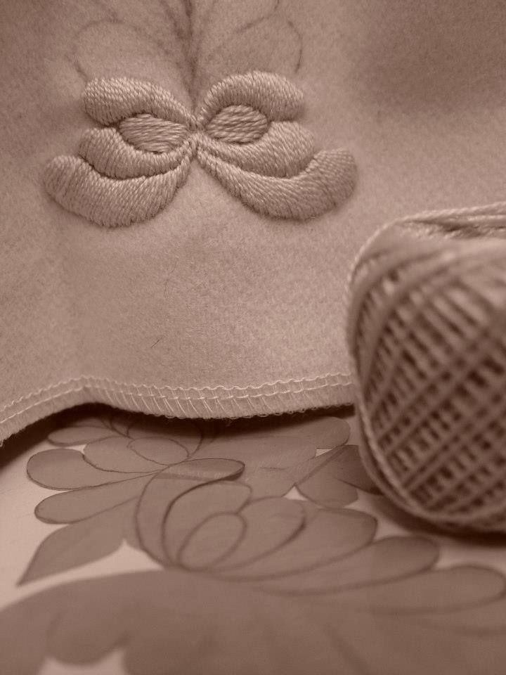 Handmade embroidery #ILLANGO #embroidery