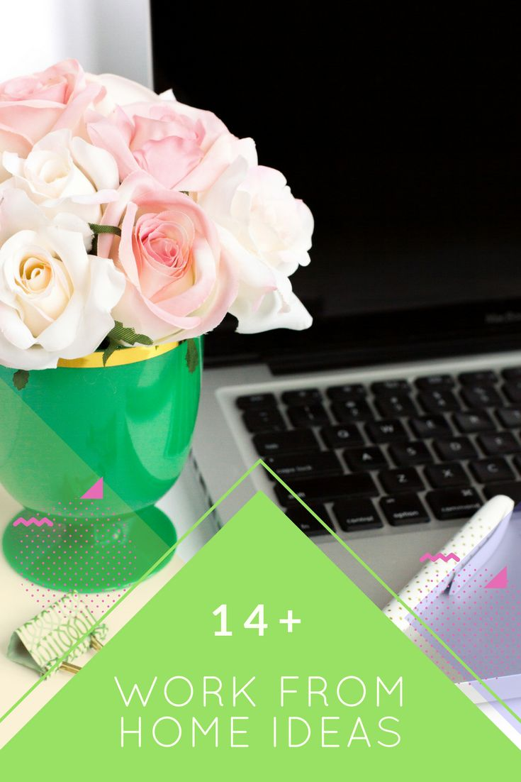 Want to work from home but don't know where to begin? These 14+ work from home ideas will get you started.