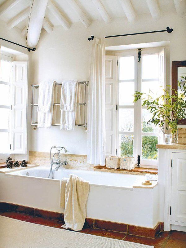 Die besten 25+ Farm style natural bathrooms Ideen auf Pinterest - badezimmer aus alt mach neu