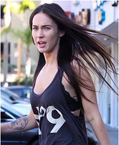 Megan Fox Without Makeup... still beautiful!