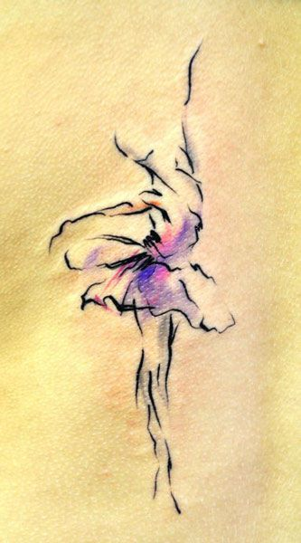 Lukas Musil MUSA  Lidická 8  Prague,   Czech Republic    This is the most beautiful dancer tattoo I have ever seen...