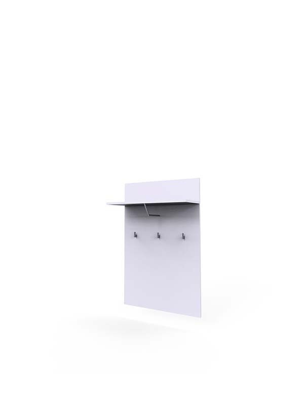selene-20-panel-wieszaki-półka-przedpokój-poczekalnia-zabudowa-biała