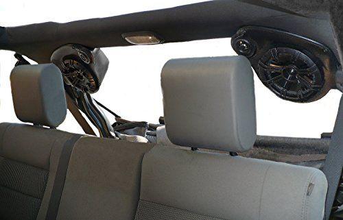 Select Increments JKU Jeep Wrangler Unlimited Speaker Pods