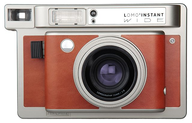 The Lomo'Instant Wide is Lomography's First Instant Camera for Fuji Instax Wide Film
