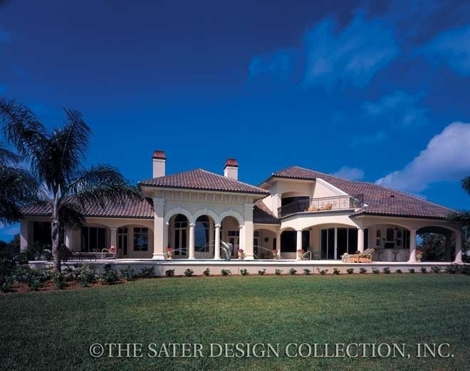 Dauphino sater design collection plans luxury house for Sater home designs