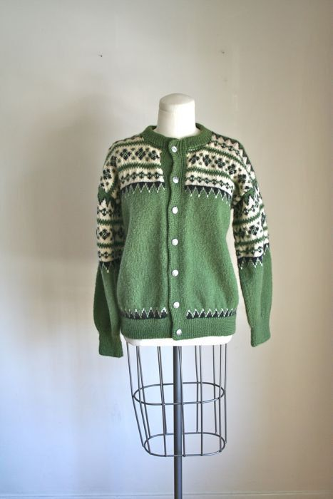 vintage 60s wool sweater LULLE OTTERSTAD nordic by MsTips on Etsy, $62.00