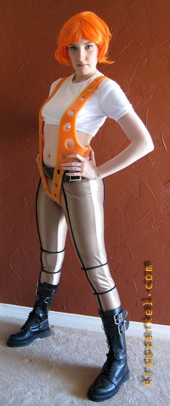 Costume halloween fifth element