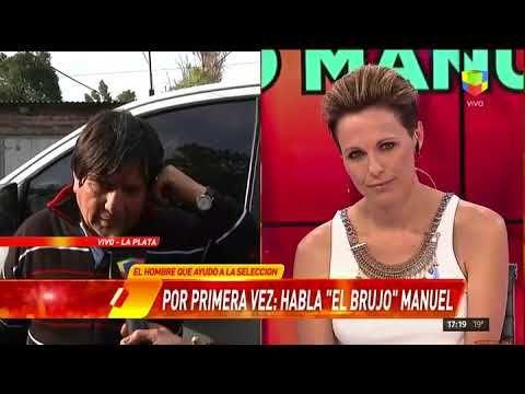 """El """"Brujo"""" Manuel con Infama: """"Abrí caminos para que la Selección haga g..."""