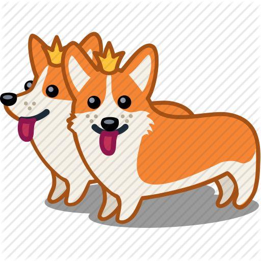 Small Fluffy Cartoon Dog