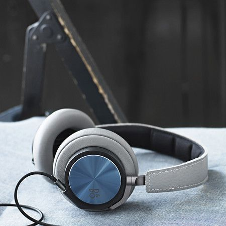 B&O Play by Bang & Olufsen - H6 Over-Ear Headphones - Blue Stone