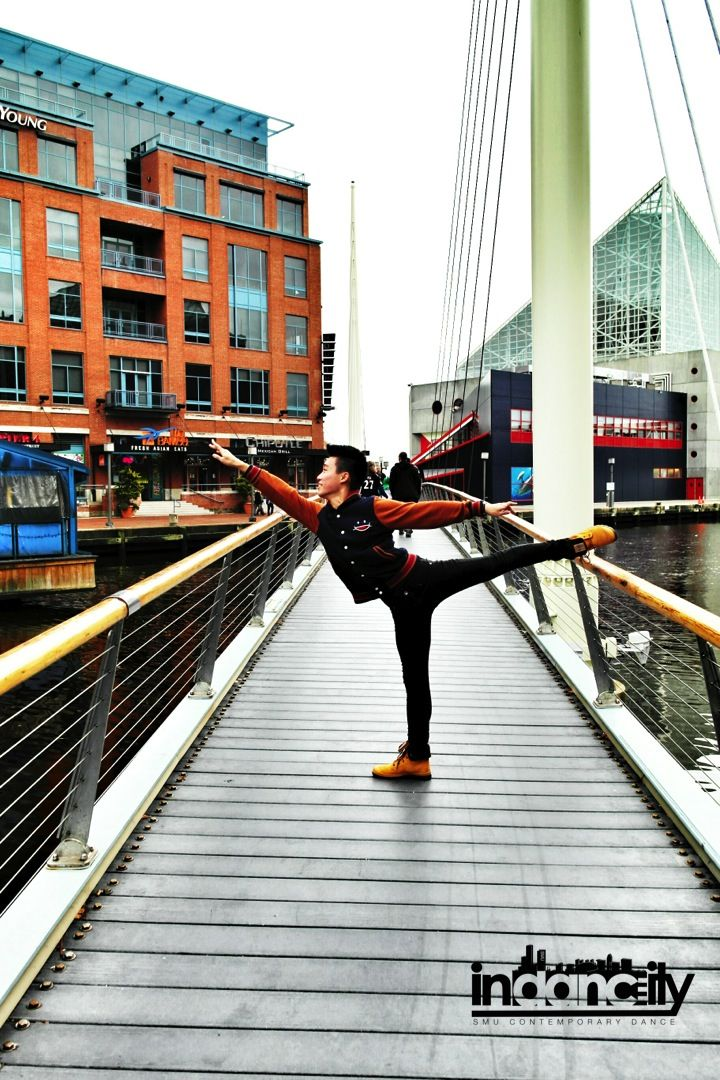 """""""Dance enables you to find yourself and lose yourself at the same time."""" -author unknown Even overseas, our dancers never cease to stop dancing! #smu #overseas #exchange #arabesque #bridge #sgdance #singapore #contemporary"""