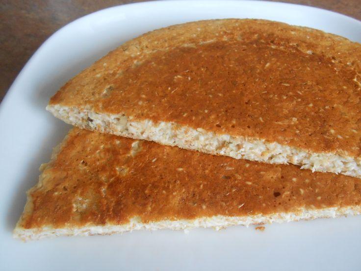 Ленивая чесночная лепешка ( Диета Дюкан) : Низкокалорийные рецепты