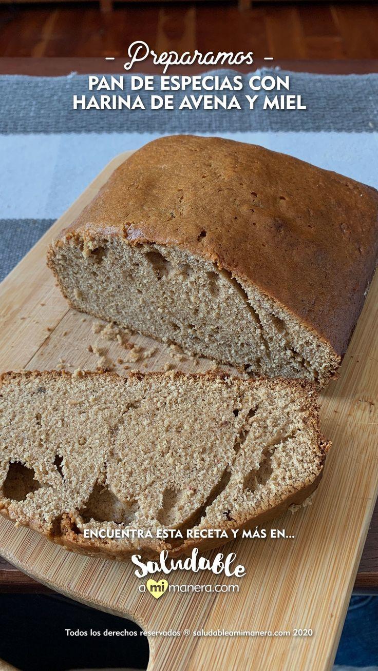 El #Pain #d'épices es una receta de #Francia con un delicioso toque de #miel y algunas especias como el #anís y el #jengibre, además está hecho con #harinadeavena. Encuentra la receta completa en el link. Healthy Recipes, Healthy Food, Banana Bread, Cooking, Desserts, Ideas, Blame, Gingerbread, Bread Recipes