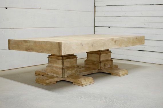 Wood Coffee Table, Farmhouse Coffee Table, Wooden Coffee Table, Reclaimed Wood Furniture, Farmhouse Decor, Large Coffee Table - FREE Ship