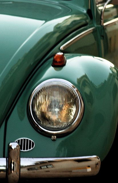 a green beetle... my 2 favorite things!! the color green and volkswagons!!