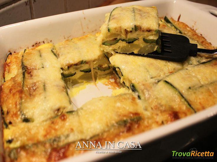 Parmigiana di patate e zucchine  #ricette #food #recipes