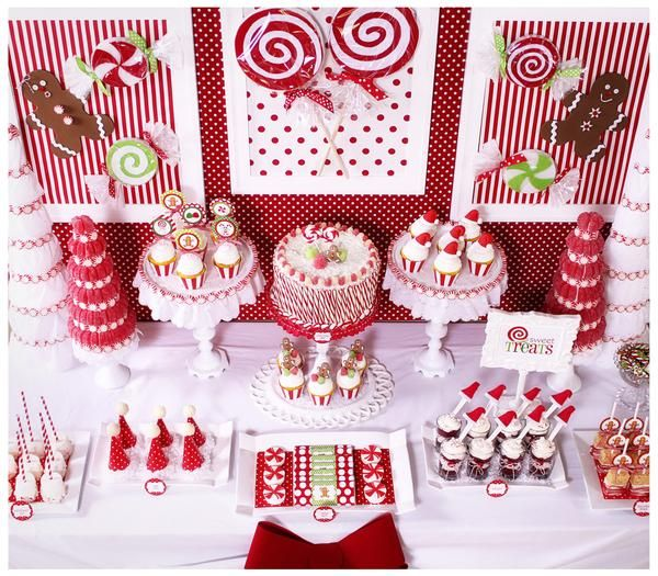 Candy Cane Party Decorations Magnificent 106 Best Candy Cane Party Images On Pinterest  Christmas Ideas Design Ideas
