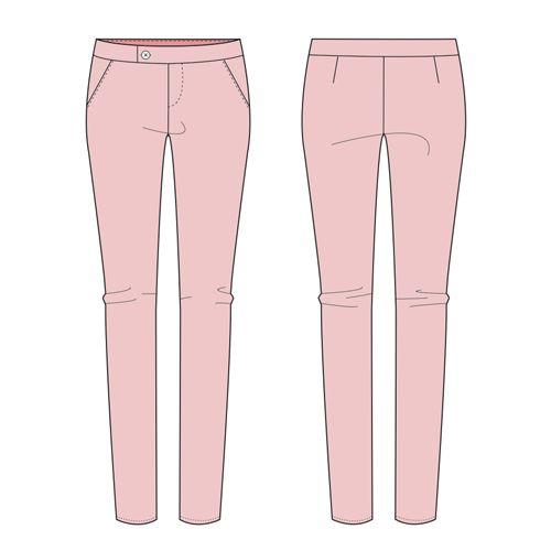 Emma Pants pattern.GRATUIT