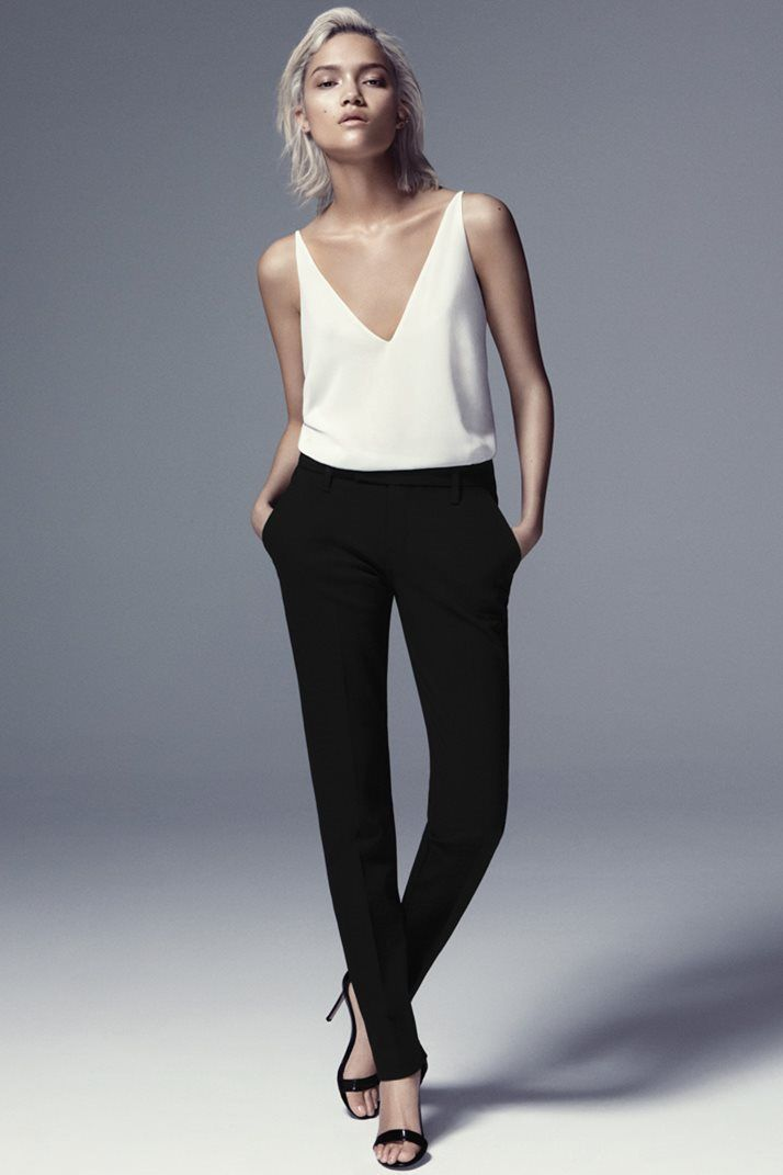 J Brand Skinny Pant - modern chinos. These look perfect.