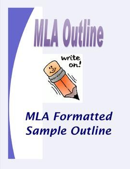 This is a sample outline for MLA formatted essays. This serves as an easy template for students to use. It features: An example title,  MLA formatted heading,  Thesis statement, Outline of five body paragraphs with sub-topics, Introduction and Conclusion paragraphs. Have your students save the file, modify the sample information, and add their own.
