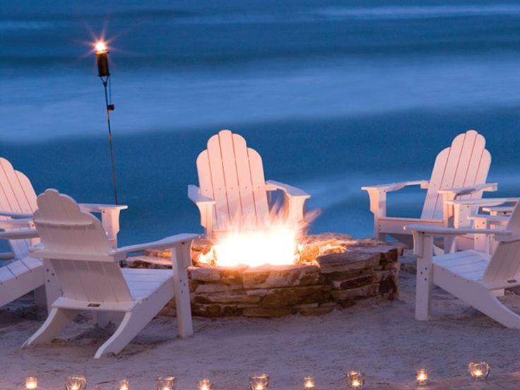 14 best Beach Fire Pits images on Pinterest | Beach fire ...