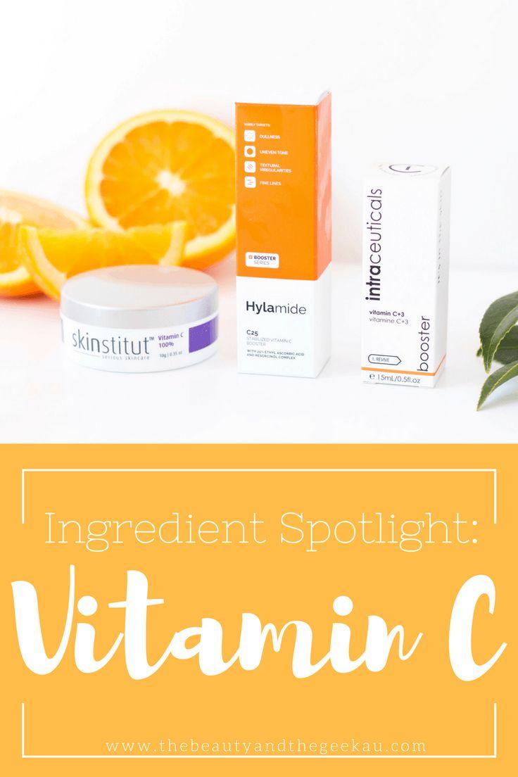 Ingredient Spotligt: Vitamin C - Beauty and the Geek