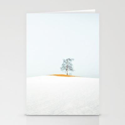TREE Stationery Cards by lilla värsting - $12.00