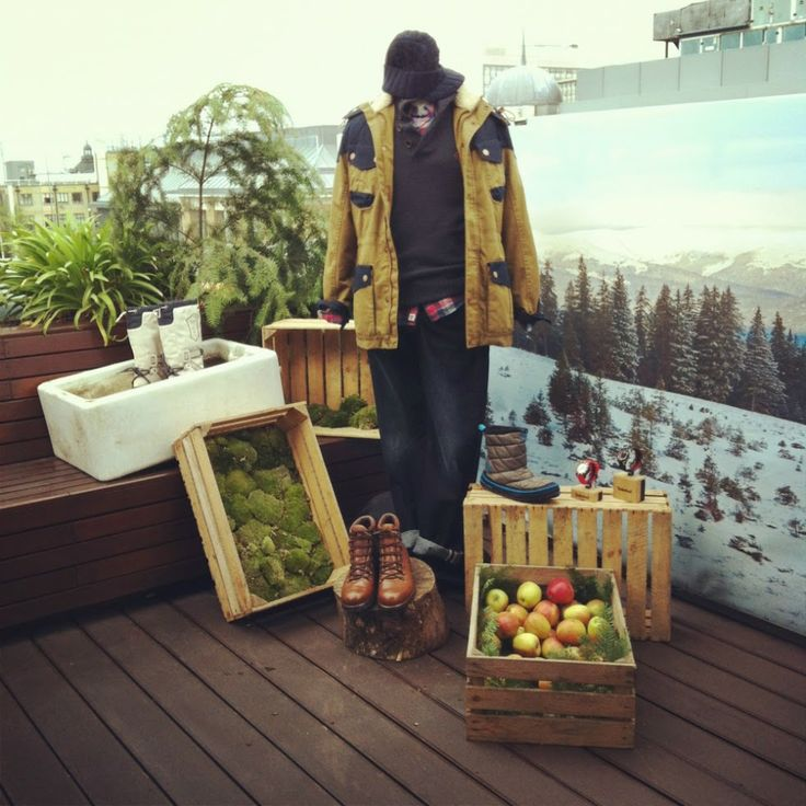 Installation and Event design for Timberland  http://www.scarlet-winter.com/timberland-.html
