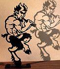 "Male nude sculpture Satyr Faun Pan Greek Mythology gay art ""Dancing Pan"" by Wi - http://art.goshoppins.com/sculpture/male-nude-sculpture-satyr-faun-pan-greek-mythology-gay-art-dancing-pan-by-wi/"
