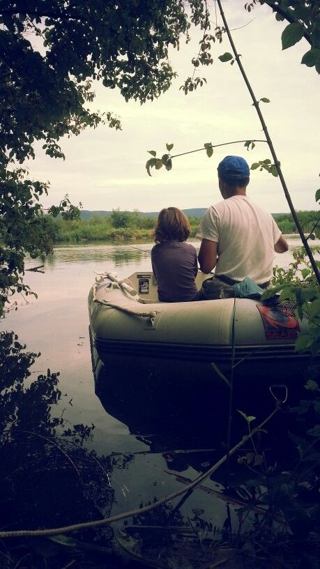 My husband teaching Alexandra to fish on Father's Day. She loved it!!! :)