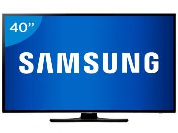 "TV LED 40"" Samsung Full HD UN40H5100 - Conversor Digital 2 HDMI 1 USB"