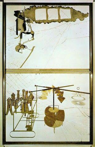 """El gran vidrio"" Duchamp (1915-1926)"