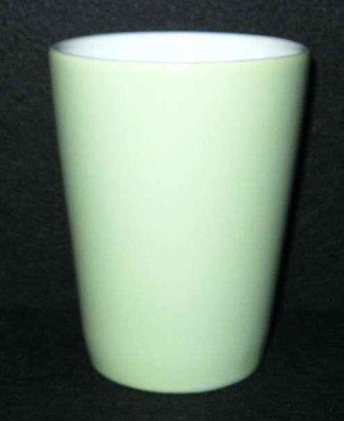 Lilienporzellan Daisy Kakaobecher grün 70,--