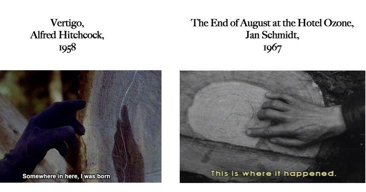 FEELS FAMILIAR? Hitchcock VS Schmidt