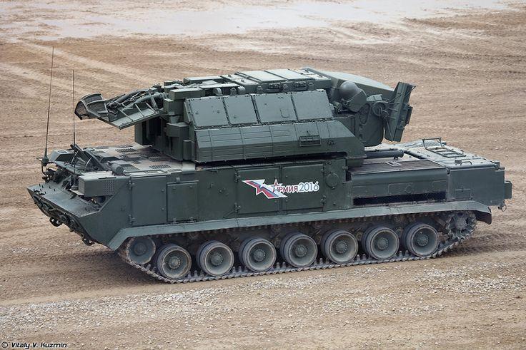Боевая машина ЗРК Тор-М2У (Tor-M2U)