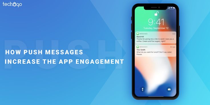 #Push #messages have the caliber to increase the #app #engagement to a higher level, and it can also #Curious to know more read this blog ahead and unleash the facts further...