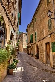 Valldemossa Mallorca...touted as the most beautiful town on the island..this, Deia and Fornalutx are my favs