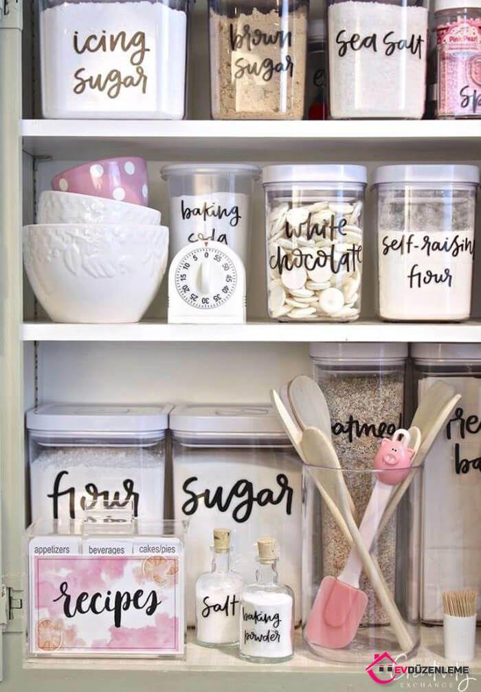 40 unglaubliche Effekte, die Ihnen das Leben in kleinen Küchen erleichtern …   – Mutfak Dekorasyon Fikirleri ve Muhteşem Çözümler