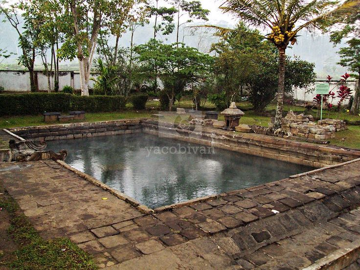 Umbul temple, ancient bathing place from Sanjaya Dynasty.