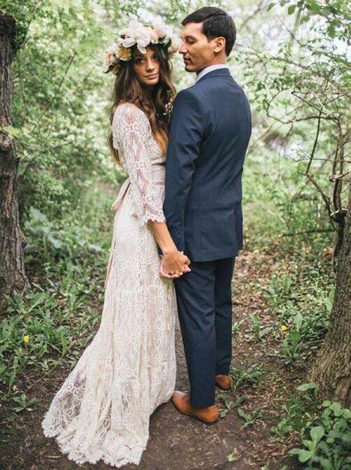 Sexy wedding dresses wedding wedding dress and weddings for Bohemian style wedding dresses for sale