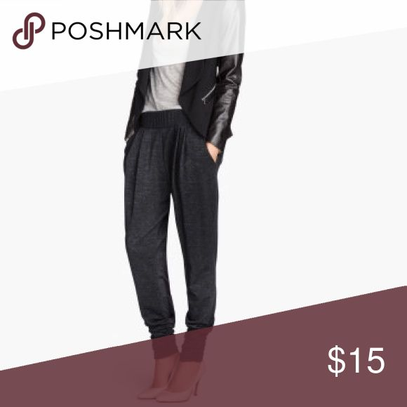 H&M ladies joggers with pockets ever worn, only washed. dark gray melange. super cute and comfy! H&M Pants