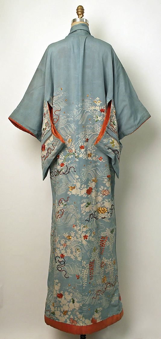 Kimono  Date: 19th century Culture: Japanese Medium: silk