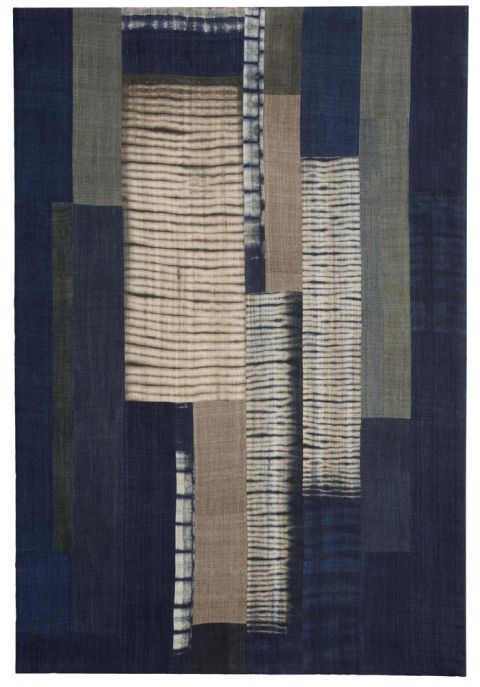 Frank Connet : Artwork : Textiles : Early Selected Work : Work on Hemp