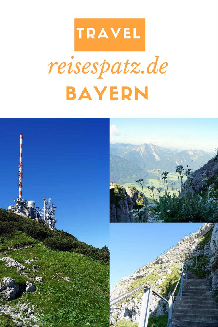 Reiseziel Bayern. Ein Ausflug auf den Wendelstein.