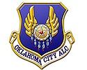 Tinker Air Force Base, #Oklahoma City ALC logo  #USAF