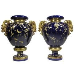 Rare Early 20th Century Aesthetic Movement Majolica and Gilt-Metal Jewelry Box For Sale at 1stdibs