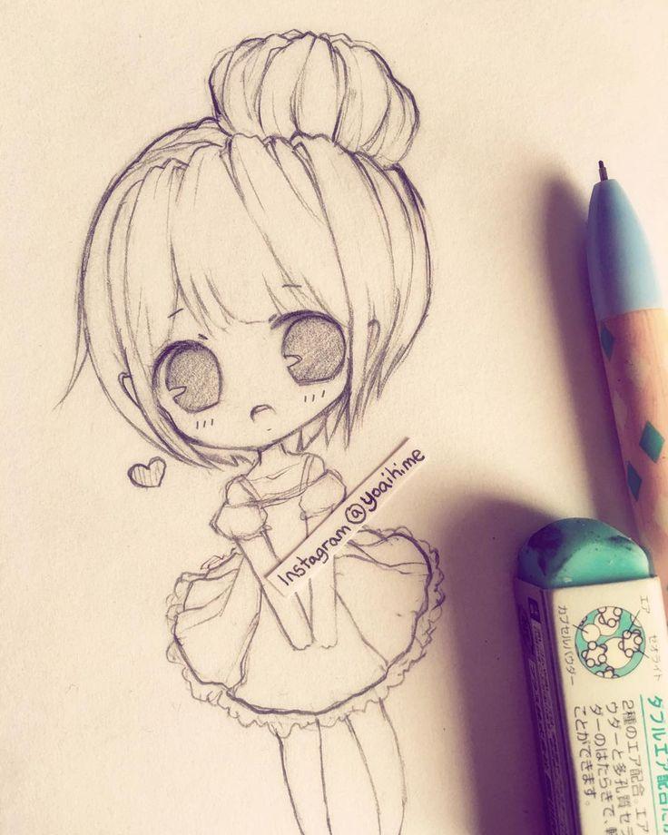 random sketch ;w; bleh I wanna go homeee o(;△;)o #art #sketch #doodle #drawing…