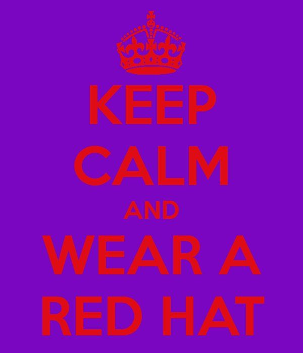 #red purple #red hats #red hat society