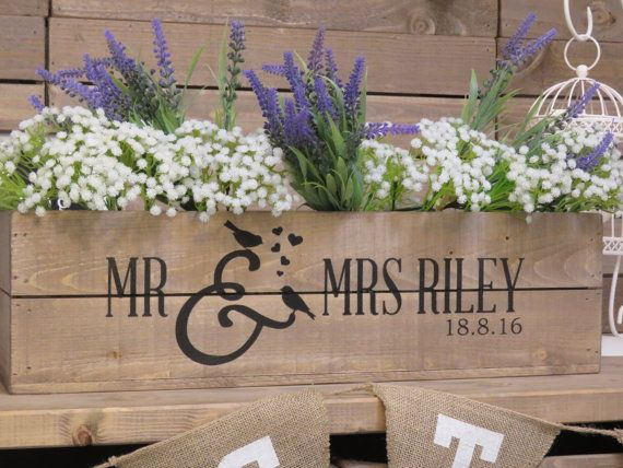 Hey, I found this really awesome Etsy listing at https://www.etsy.com/uk/listing/265400711/personalised-rustic-wedding-wooden-table